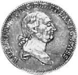 Taler Konventionstaler Wilhelm IX. 1813  ss-vz