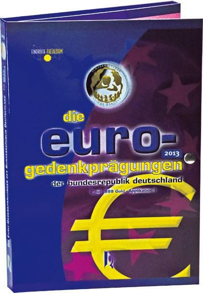 10 Euro Applikationen Faltalbum 2013