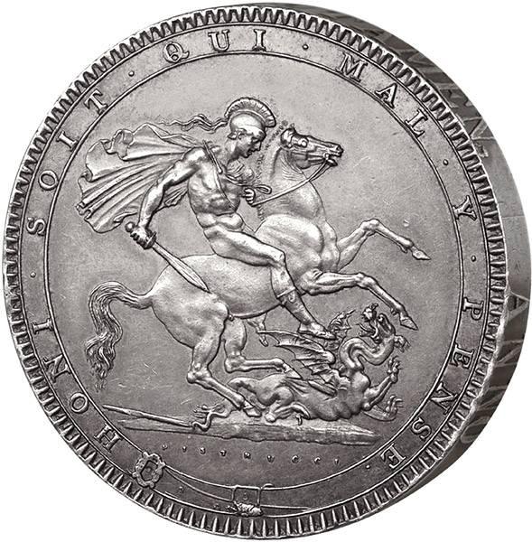 Crown Großbritannien Georg III.