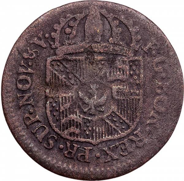 1 Kreuzer Preußen Neuenburg Friedrich Wilhelm II. 1790-1794