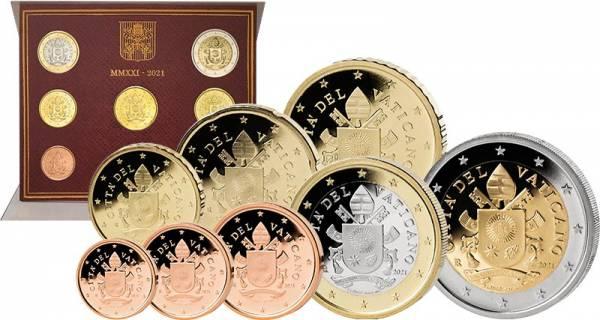 Euro-Kursmünzensatz Vatikan 2021