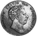 Taler Kronentaler Wilhelm I. 1818 Sehr schön
