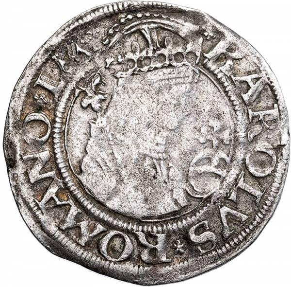 1/2 Batzen Nördlingen Graf Eberhard IV. von Eppstein-Königstein 1522-1532