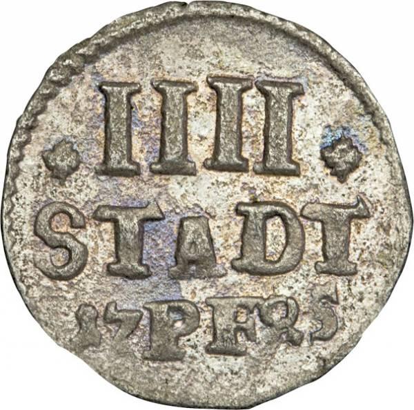 4 Stadtpfennig Hildesheim Stadt 1663-1764
