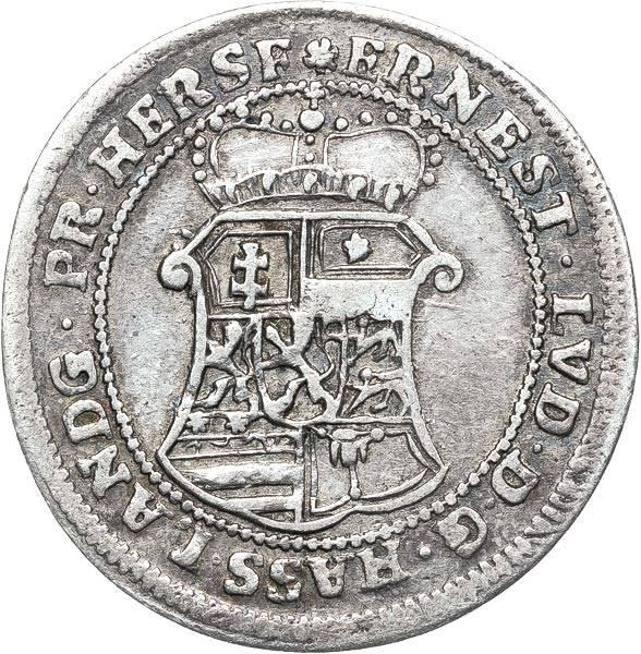 10 Kreuzer Hessen-Darmstadt Landgraf Ernst Ludwig 1726-1733