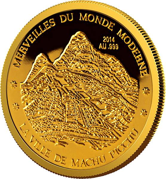100 Francs Niger Machu Picchu 2014