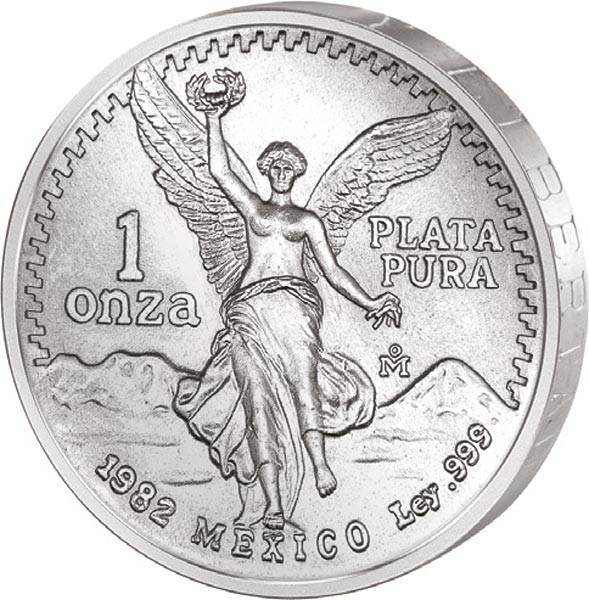 1 Unze Silber Mexiko Libertad 1982
