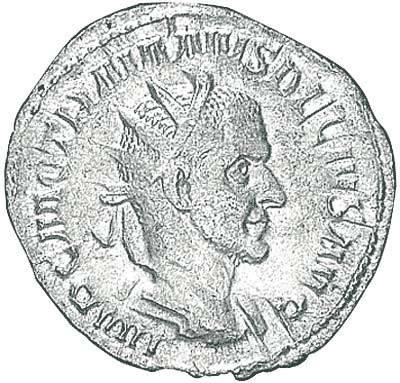 Antoninian Trajanus Decius 249-251 n.Chr. Sehr schön