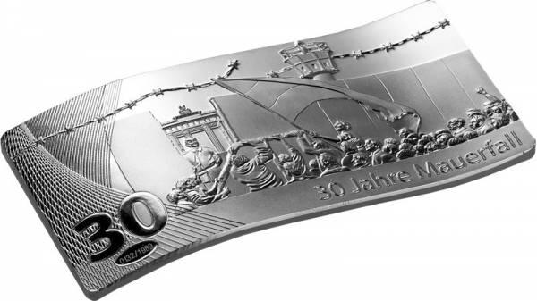 Silberbarren 30 Jahre Mauerfall