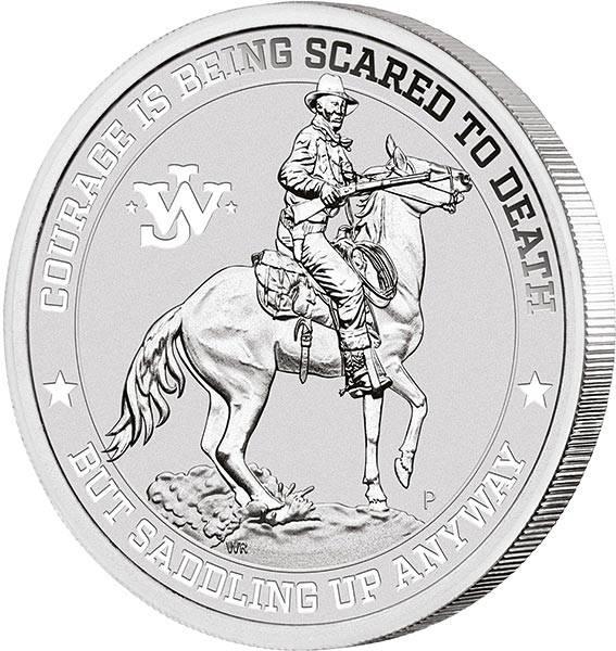 1 Unze Silber Tuvalu John Wayne 2021