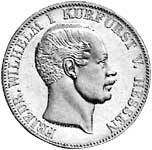 Taler  Friedrich Wilhelm I. 1851, 1854, 1855  Sehr schön