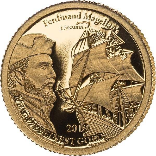 5 Dollars Fidschi Ferdinand Magellan 2019