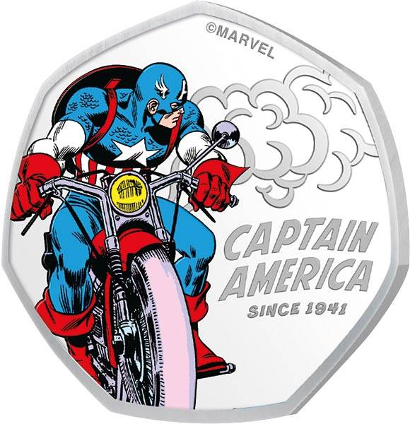 25 Cents Cook-Inseln Captain America Need for Speed 2021