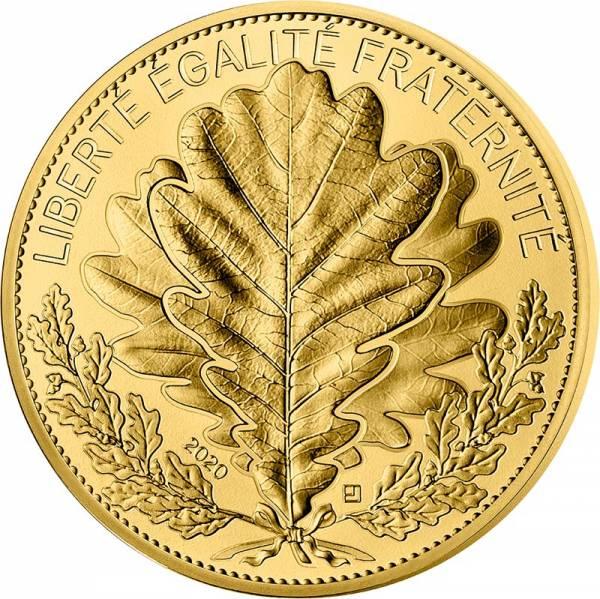 1.000 Euro Frankreich Die Natur Frankreichs - Die Eiche 2020