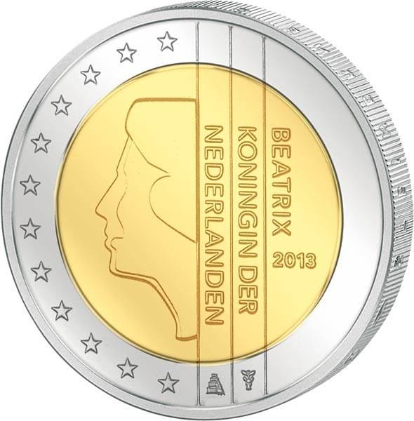 2 Euro Niederlande Beatrix 2013
