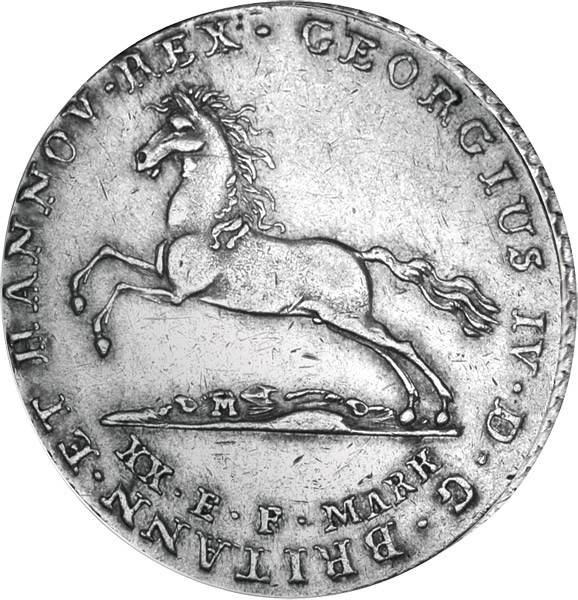 16 Gute Groschen Hannover König Georg IV