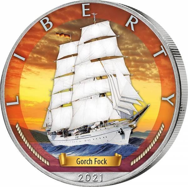 1 Dollar USA Gorch Fock 2021