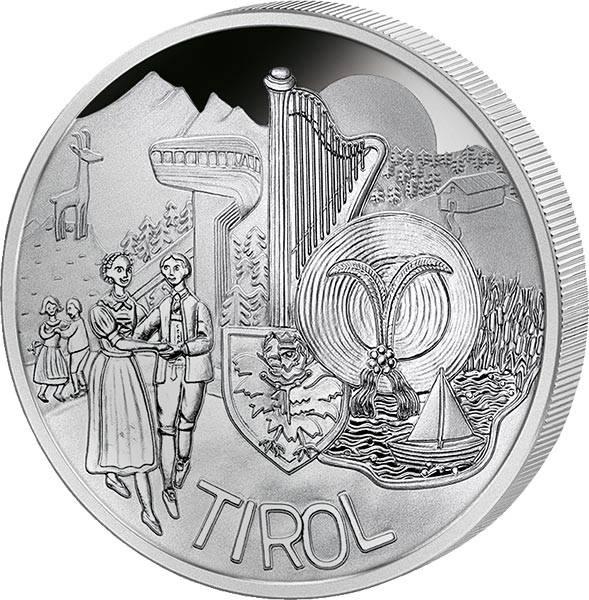 10 Euro Österreich Tirol 2014 PP