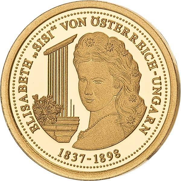 Gedenkprägung Elisabeth Sisi von Österreich-Ungarn