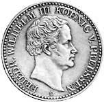 Taler  Friedrich Wilhelm III. 1829-1840  Sehr schön