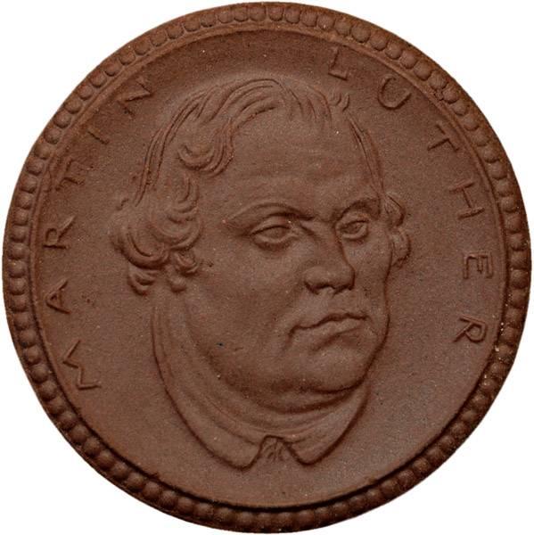 1 Mark Meißen Martin Luther 1921 Sachsen vz - st