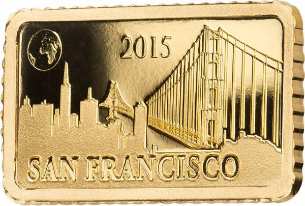 10 Dollars Salomonen San Francisco Golden Gate Bridge 2015
