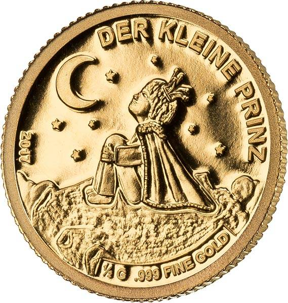 100 Francs Mali Der kleine Prinz 2017