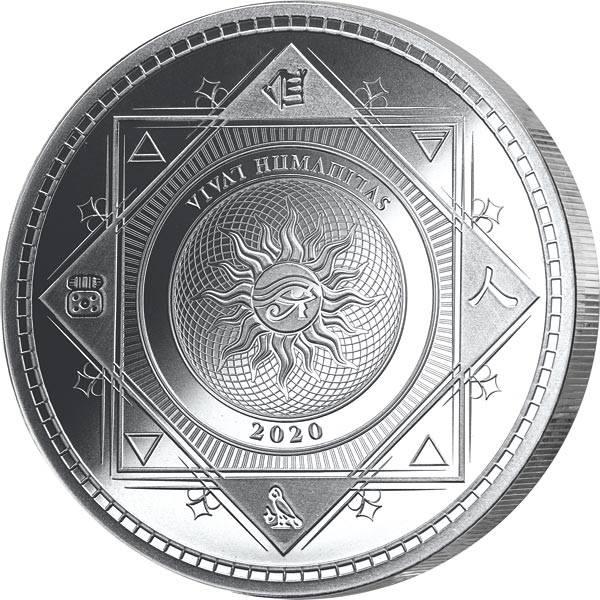 1 Unze Silber Tokelau Vivat Humanitas 2020