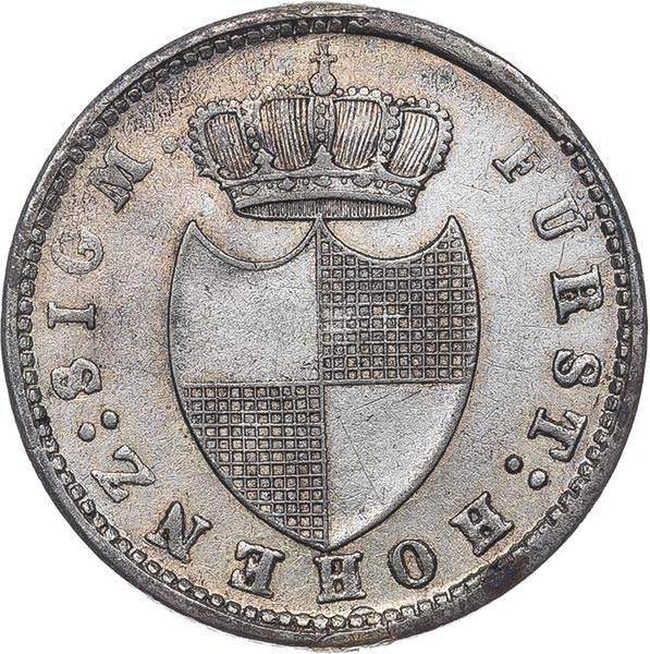 6 Kreuzer Hohenzollern-Sigmaringen Fürst Karl 1839 - 1846