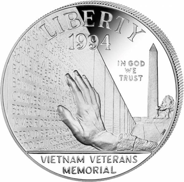 1 Dollar USA Vietnam Veteranen