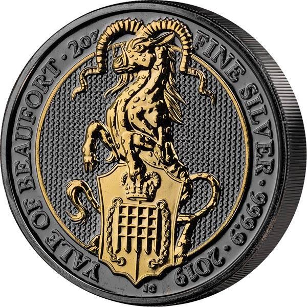 2 Unzen Großbritannien Yale von Beaufort 2019 Golden Enigma Edition