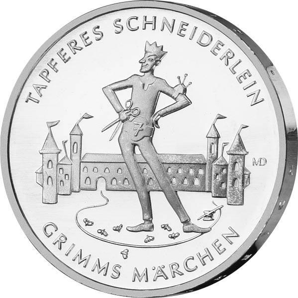 20 Euro BRD Das tapfere Schneiderlein 2019