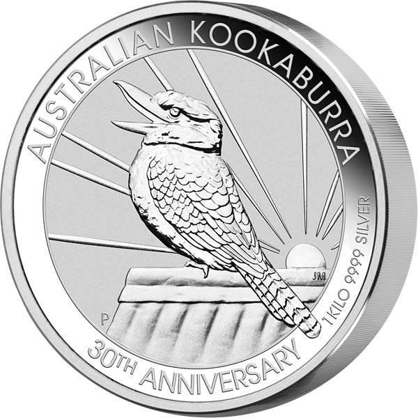 1 Kilo Silber Australien Kookaburra 2020
