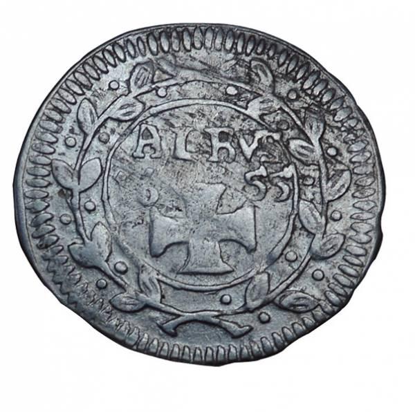 1 Albus Freie Stadt Frankfurt 1637-1657  Sehr schön