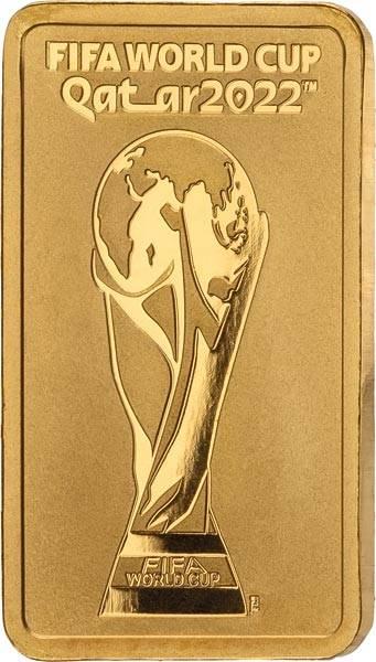 1 Gramm Goldbarren Schweiz FIFA WM 2022