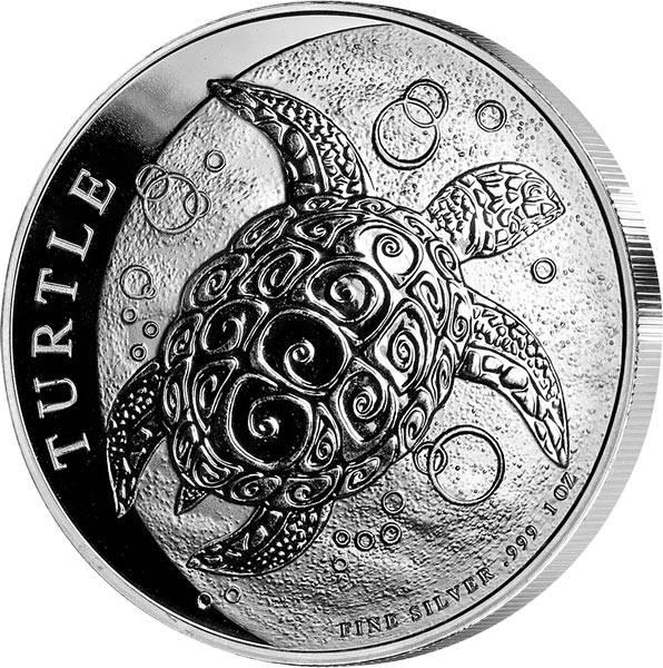 1 Unze Silber Niue Meeresschildkröte 2019