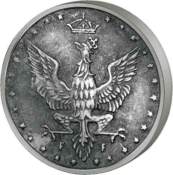 5 Fenigow Polen Reichsadler 1917-1918 Sehr schön