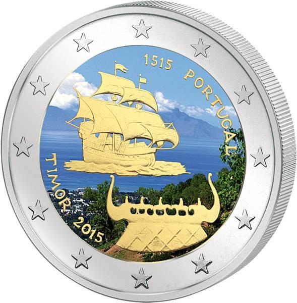 2 Euro Portugal J. Timor 2015 prägefrisch