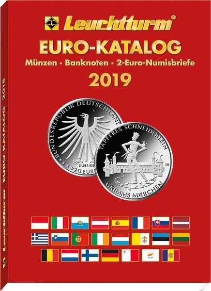 Leuchtturm Euro-Katalog 2019