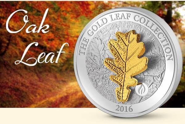5 Dollars Samoa Gold Leaf Kollektion Eiche