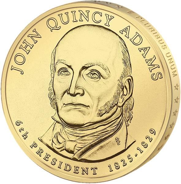 1 Dollar USA John Quincy Adams 2008 Stempelglanz