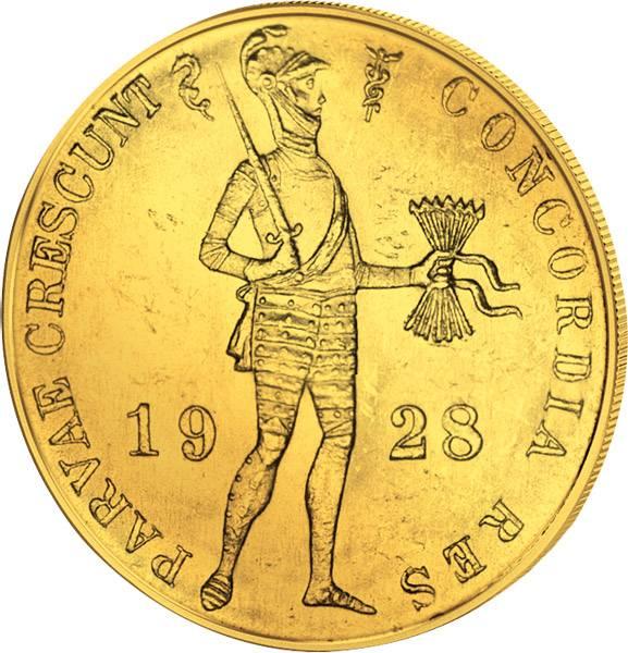 1 Dukat Niederlande Ritter