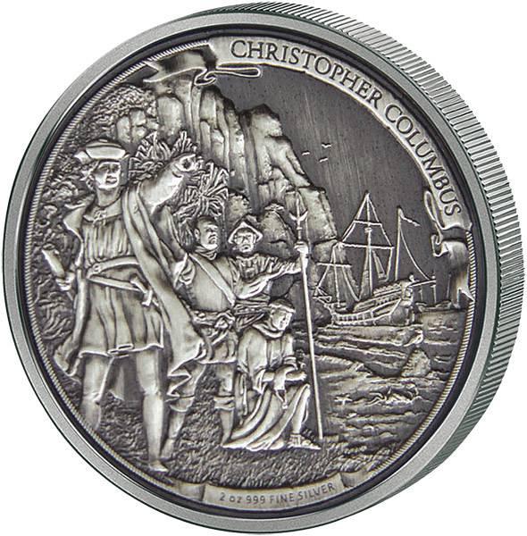 5 Dollars Niue Die Reisen des Christoph Kolumbus