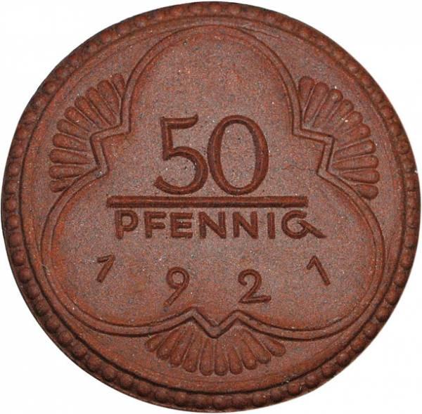 50 Pfennig Porzellannotgeld Altenburg 1921