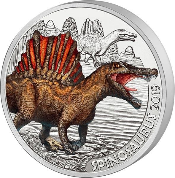 3 Euro Österreich Super-Saurier Spinosaurus 2019