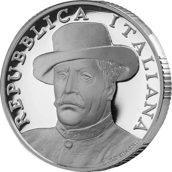 10 Euro Italien 80. Todestag Giacomo Puccini 2004