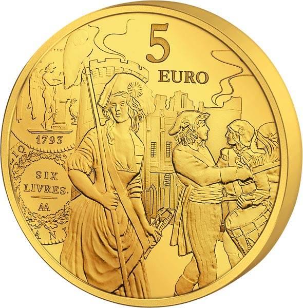 5 Euro Frankreich Säerin 2018