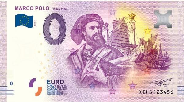 0-Euro-Banknote Marco Polo 2019