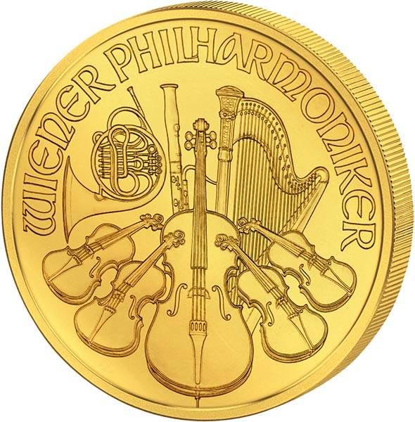 1 Unze Gold Österreich Philharmoniker 2019