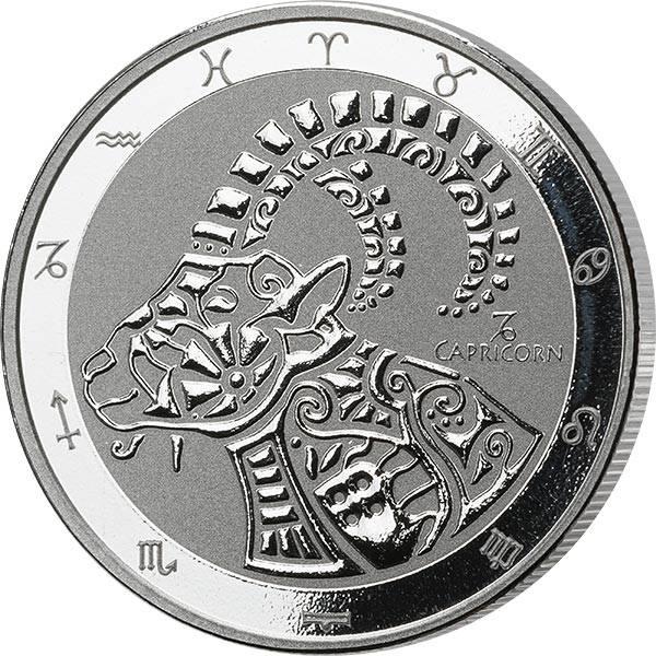 1 Unze Silber Tokelau Steinbock 2021